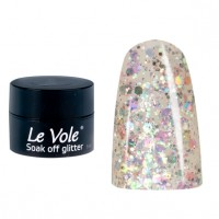 Soak off Glitter (5ml) 04